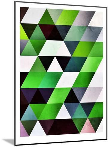 lyzzyrrd-Spires-Mounted Art Print