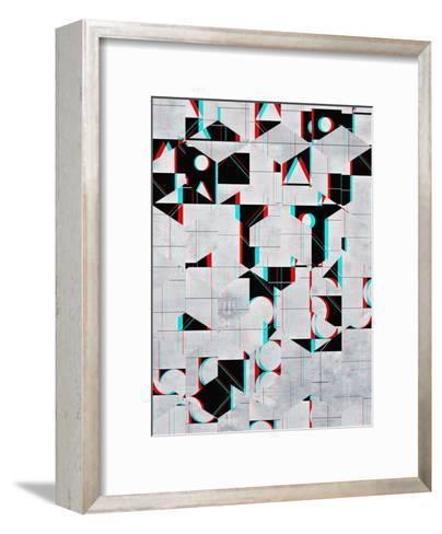 fylss ynyglyph-Spires-Framed Art Print
