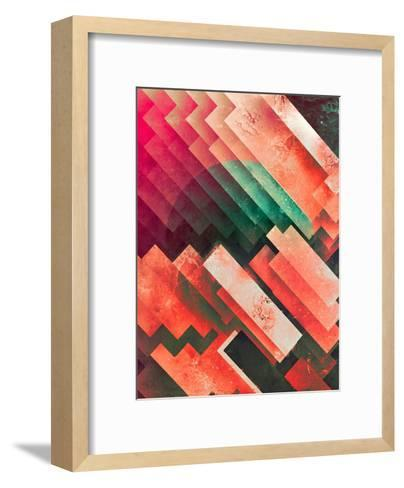 cylyr fyylds-Spires-Framed Art Print