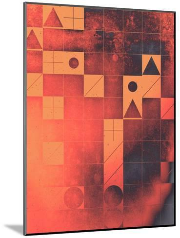 fyrge plyte-Spires-Mounted Art Print