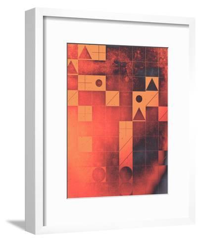 fyrge plyte-Spires-Framed Art Print