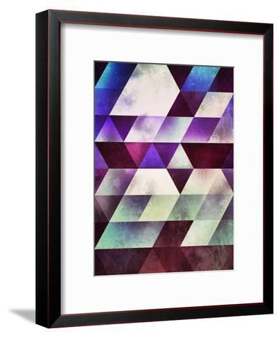 myll fyll-Spires-Framed Art Print