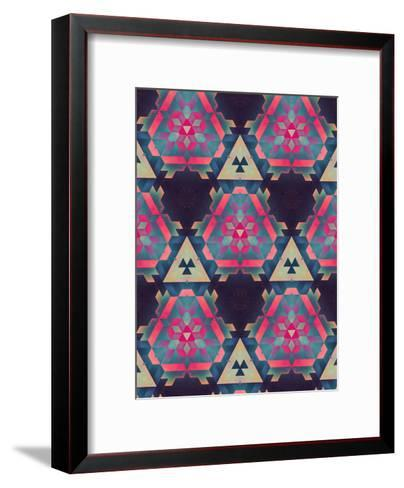 isyhyrrt cymplyx-Spires-Framed Art Print