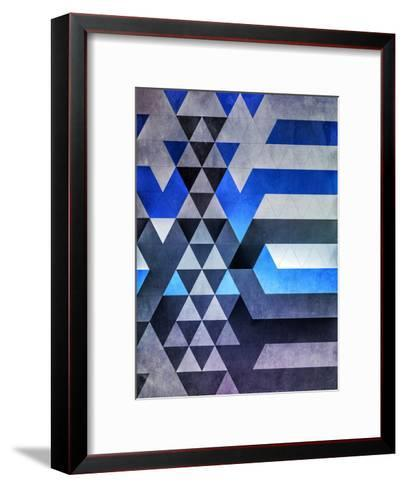kyr dyyth-Spires-Framed Art Print