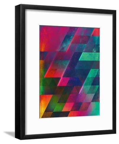 let go-Spires-Framed Art Print