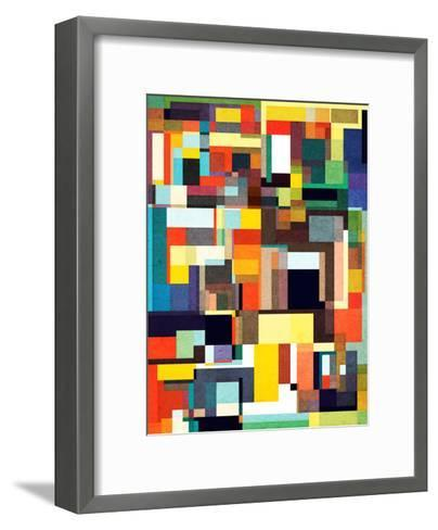 The City I Live In-Anai Greog-Framed Art Print