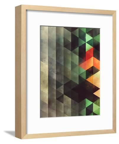 ghyst syde-Spires-Framed Art Print