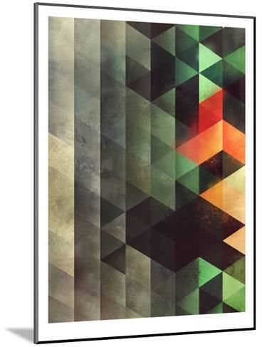 ghyst syde-Spires-Mounted Art Print