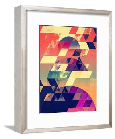 lwnly syn-Spires-Framed Art Print