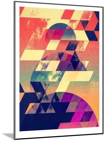 lwnly syn-Spires-Mounted Art Print