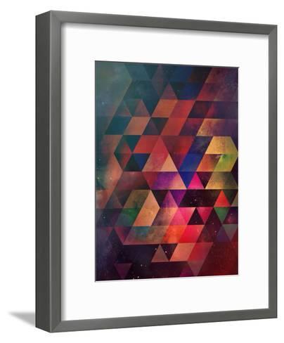 dyrgg-Spires-Framed Art Print