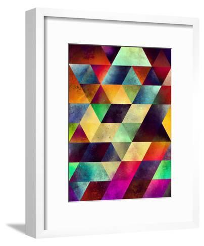 lymyrynz-Spires-Framed Art Print