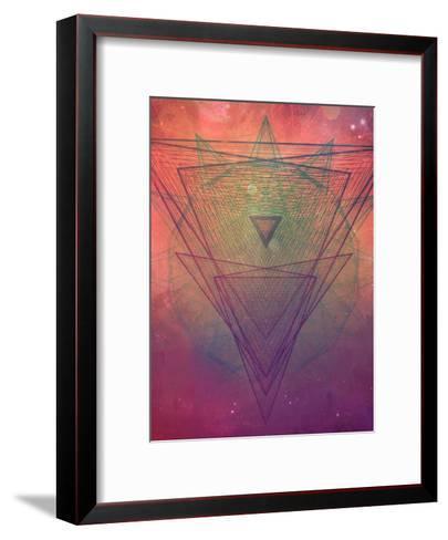 pyrymyd xrayyll-Spires-Framed Art Print