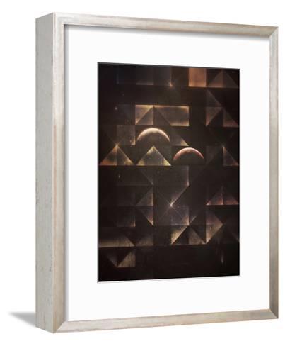 styr byrn-Spires-Framed Art Print