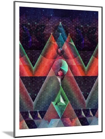 tyssyllyxxn ylltymyt-Spires-Mounted Art Print