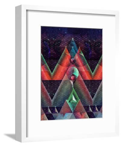 tyssyllyxxn ylltymyt-Spires-Framed Art Print