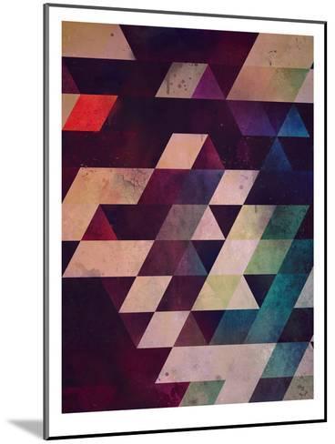 rycynstryckzhn-Spires-Mounted Art Print
