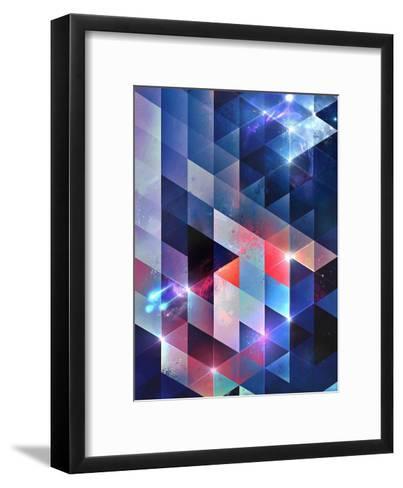 sydd vyww-Spires-Framed Art Print