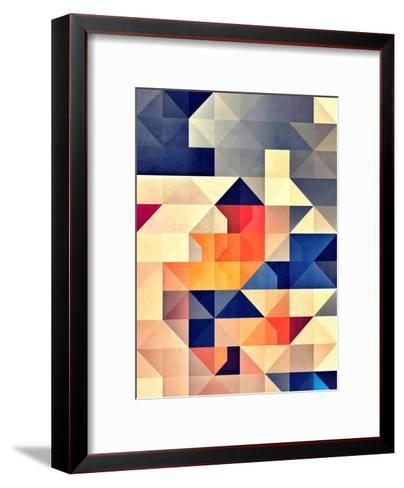 synny mwwve-Spires-Framed Art Print