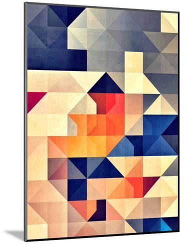 synny mwwve-Spires-Mounted Art Print