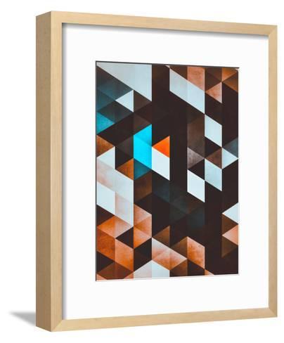 ydd_yvyn-Spires-Framed Art Print