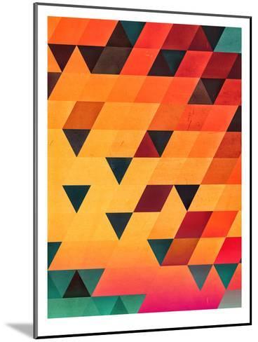 synsyt stryp-Spires-Mounted Art Print