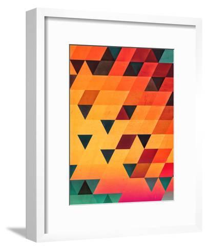 synsyt stryp-Spires-Framed Art Print