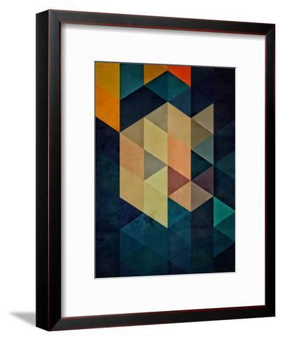synthys-Spires-Framed Art Print
