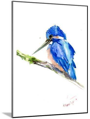 Kingfisher-Suren Nersisyan-Mounted Art Print