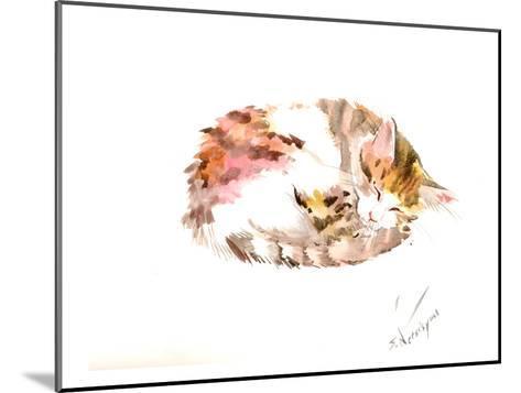Resting Cat-Suren Nersisyan-Mounted Art Print