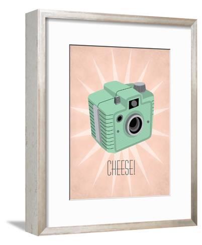 Camera 1-Jilly Jack Designs-Framed Art Print