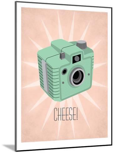 Camera 1-Jilly Jack Designs-Mounted Art Print