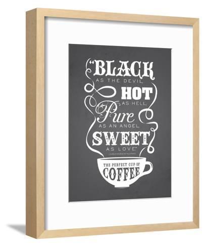 KitchenBar_Coffee5-Jilly Jack Designs-Framed Art Print