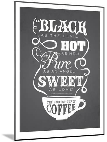 KitchenBar_Coffee5-Jilly Jack Designs-Mounted Art Print