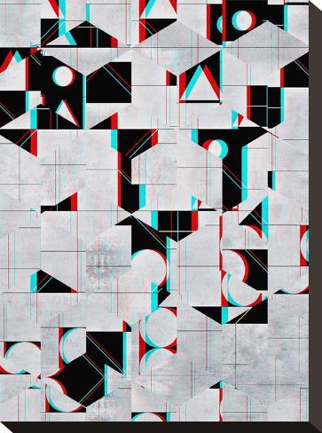 fylss ynyglyph-Spires-Stretched Canvas Print