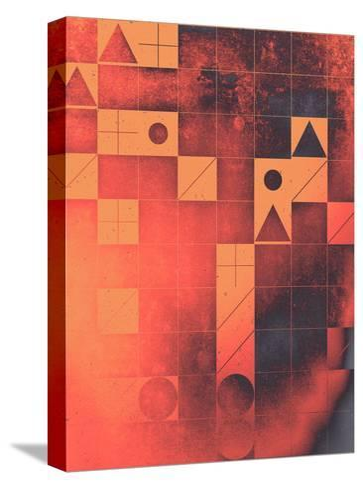 fyrge plyte-Spires-Stretched Canvas Print