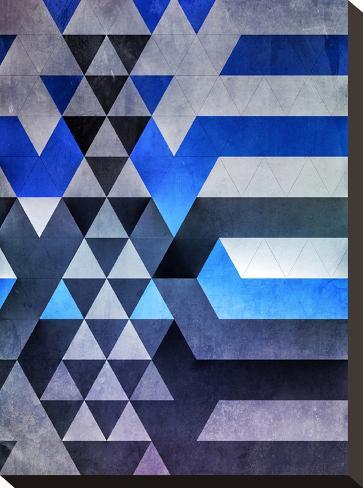 kyr dyyth-Spires-Stretched Canvas Print