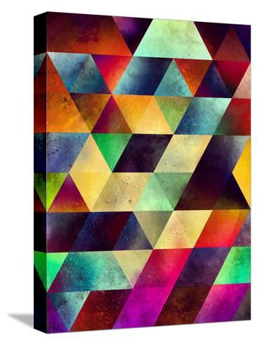 lymyrynz-Spires-Stretched Canvas Print