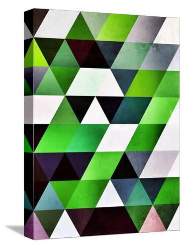 lyzzyrrd-Spires-Stretched Canvas Print