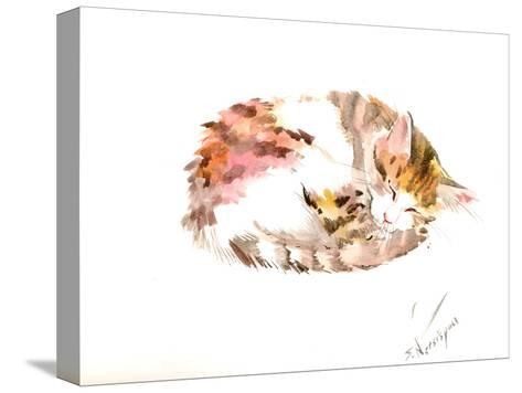 Resting Cat-Suren Nersisyan-Stretched Canvas Print