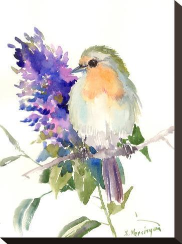Robin-Suren Nersisyan-Stretched Canvas Print