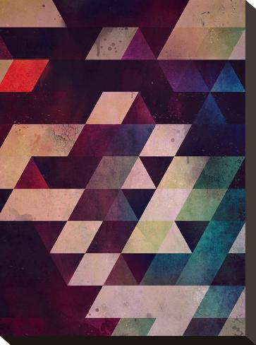 rycynstryckzhn-Spires-Stretched Canvas Print