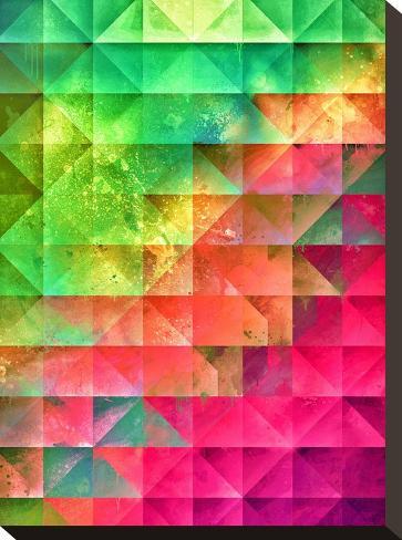 ryynbww_lyxx-Spires-Stretched Canvas Print