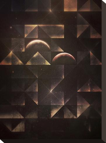 styr byrn-Spires-Stretched Canvas Print