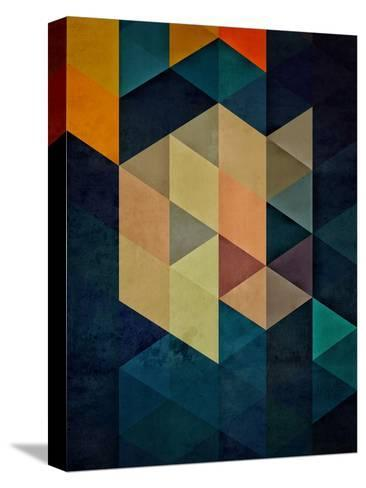synthys-Spires-Stretched Canvas Print