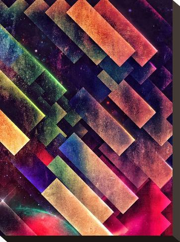 th'kynfydynse-Spires-Stretched Canvas Print