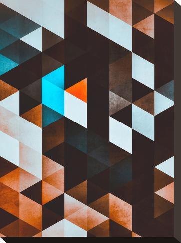 ydd_yvyn-Spires-Stretched Canvas Print