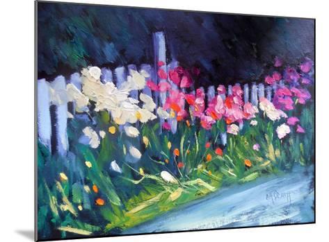 Flower Garden-Carol Schiff-Mounted Giclee Print