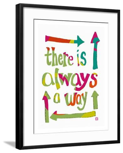 There is always a Way-Lisa Weedn-Framed Art Print
