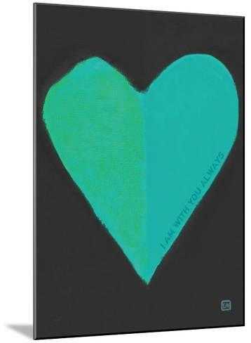 Turquoise Heart-Lisa Weedn-Mounted Giclee Print
